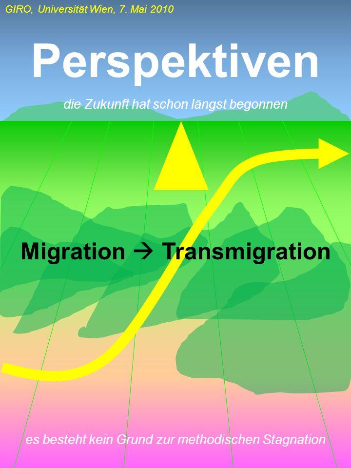 Migration  Transmigration
