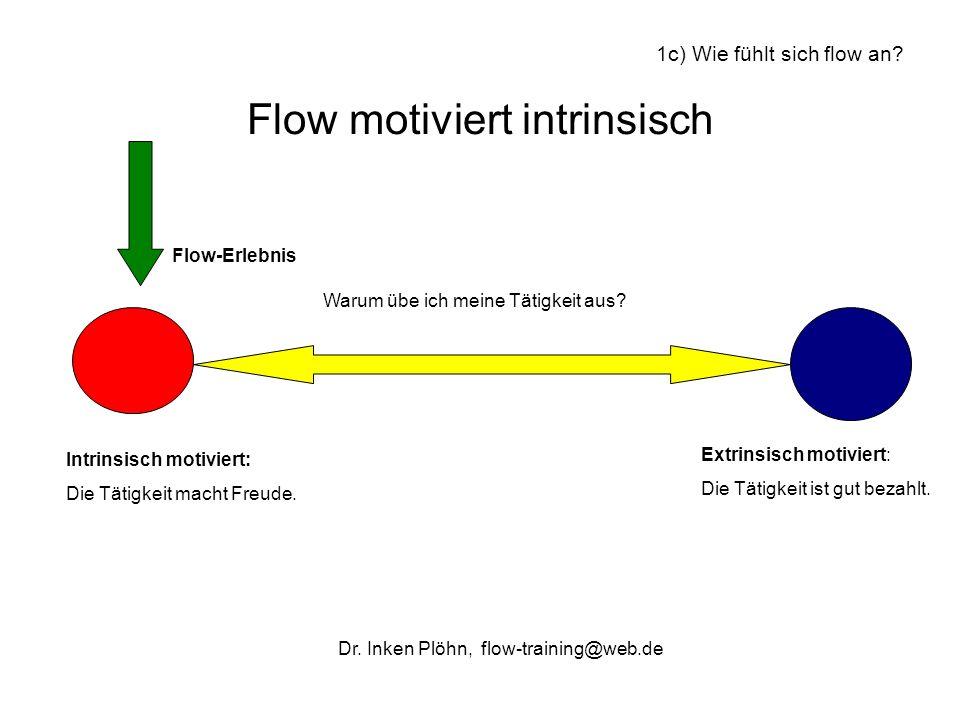 Flow motiviert intrinsisch