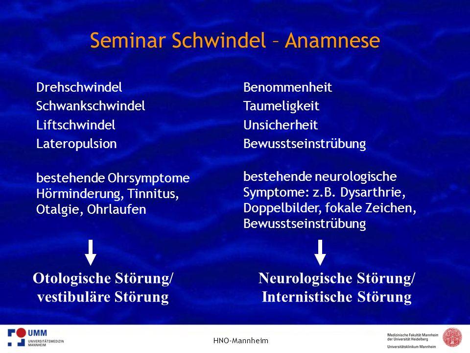 Neurologische Störung/ Internistische Störung