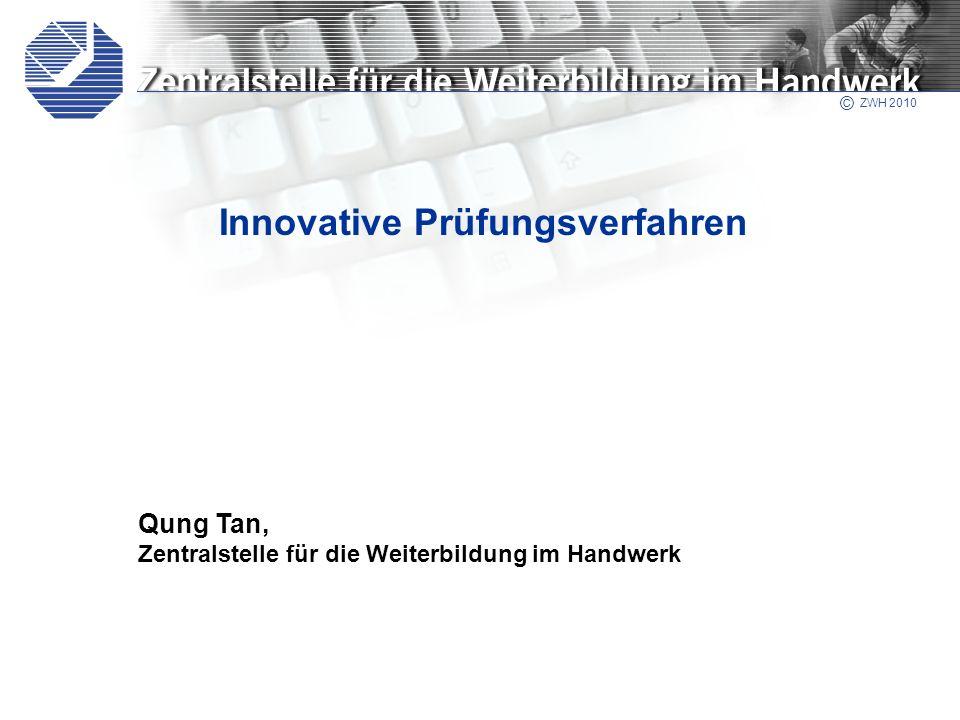 Innovative Prüfungsverfahren