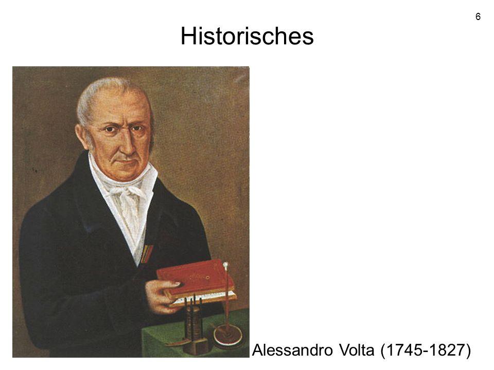 Historisches Alessandro Volta (1745-1827)
