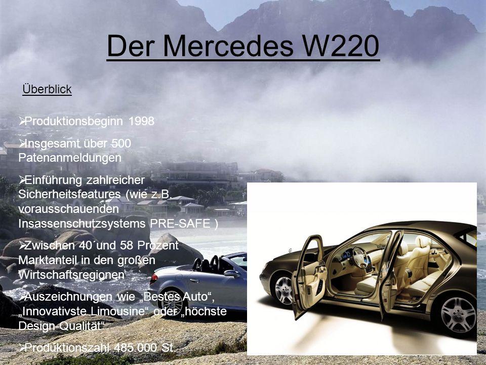 Der Mercedes W220 Überblick Produktionsbeginn 1998