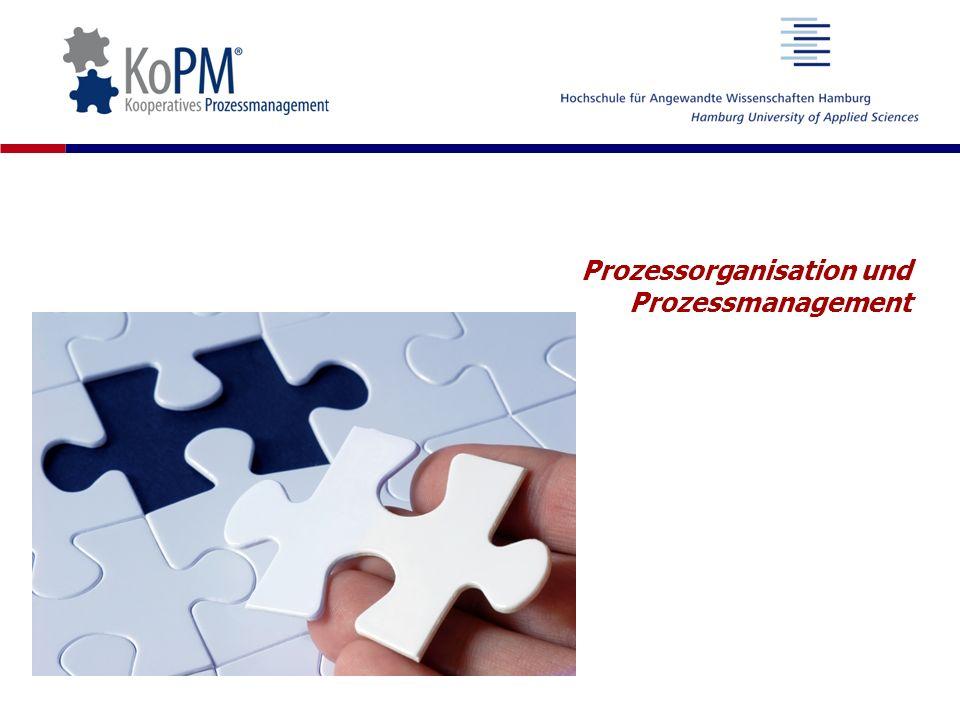 Prozessorganisation und Prozessmanagement