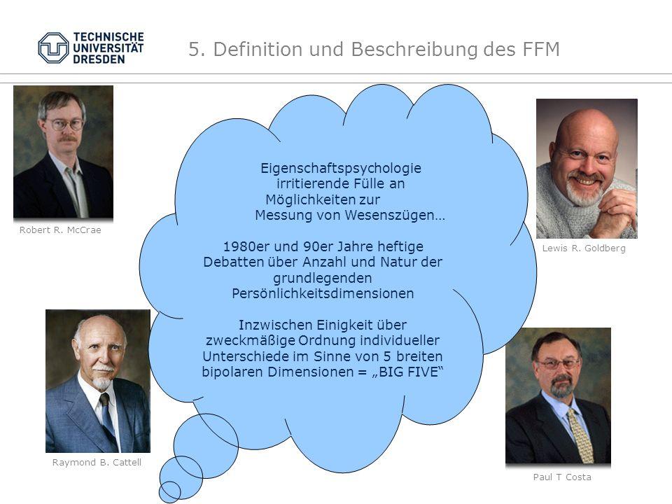5. Definition und Beschreibung des FFM