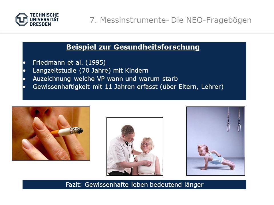 Beispiel zur Gesundheitsforschung