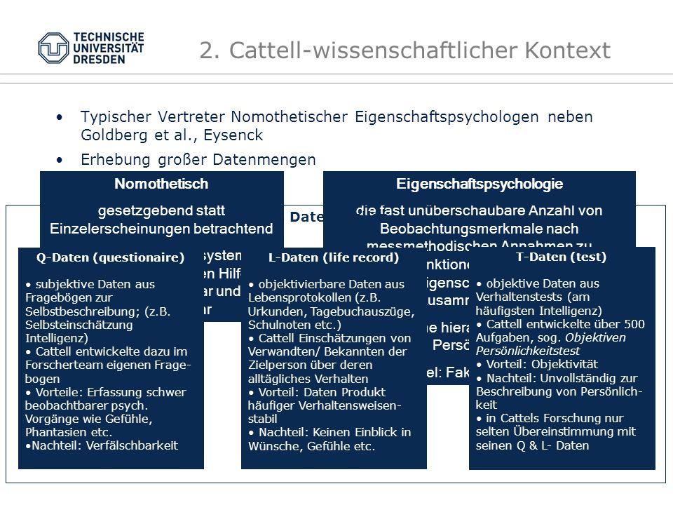Eigenschaftspsychologie