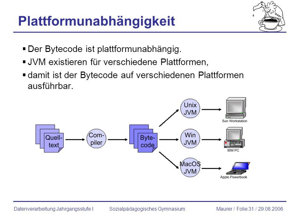 Plattformunabhängigkeit