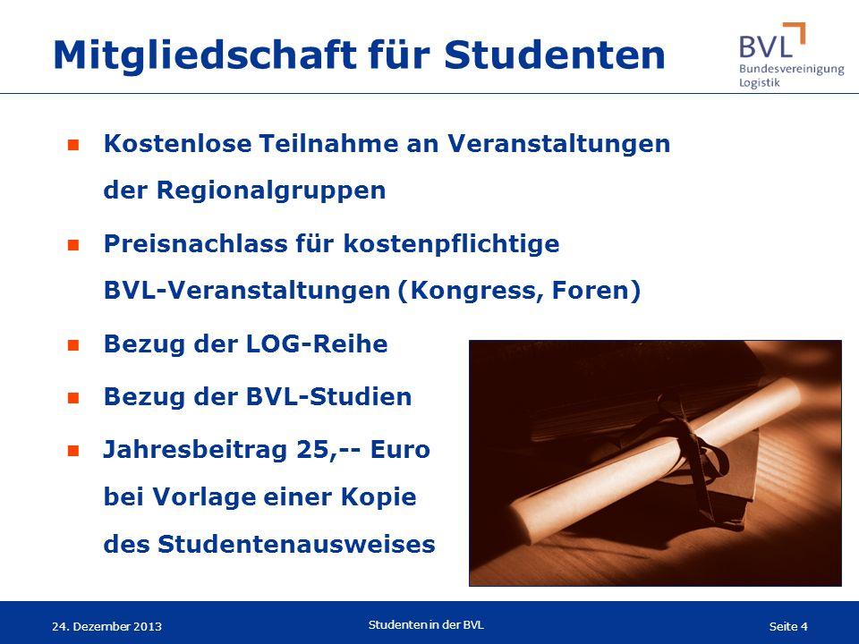 Mitgliedschaft für Studenten