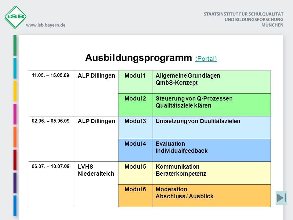 Ausbildungsprogramm (Portal)