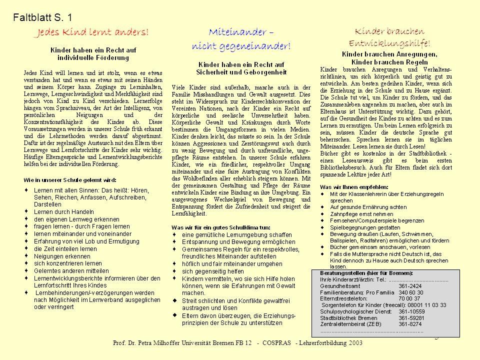 Faltblatt S. 1 Prof. Dr.
