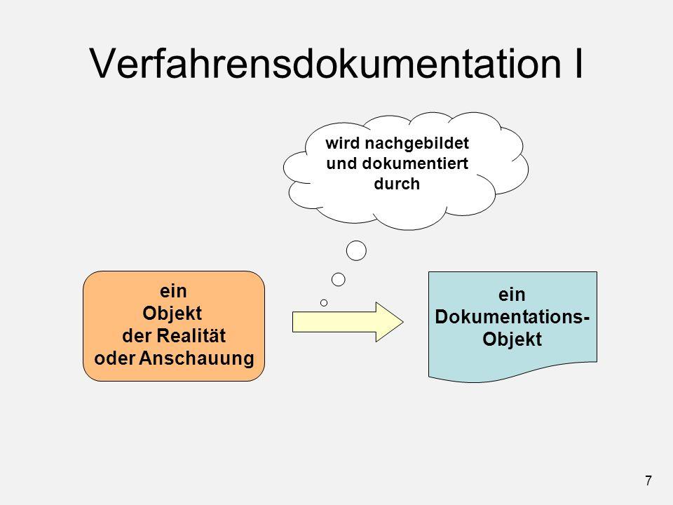 Verfahrensdokumentation I