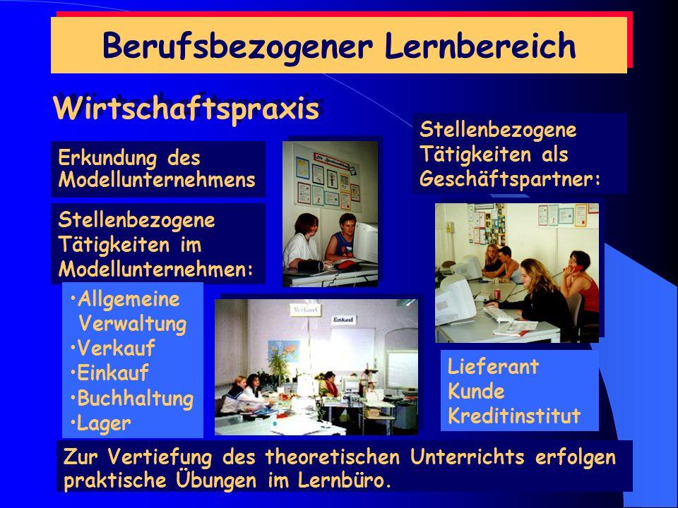 Berufsbezogener Lernbereich