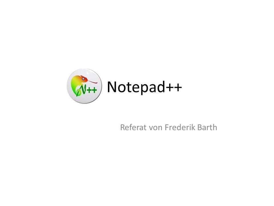 Referat von Frederik Barth