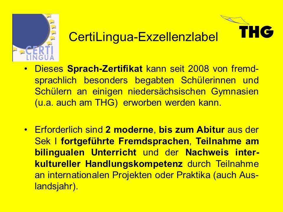 CertiLingua-Exzellenzlabel