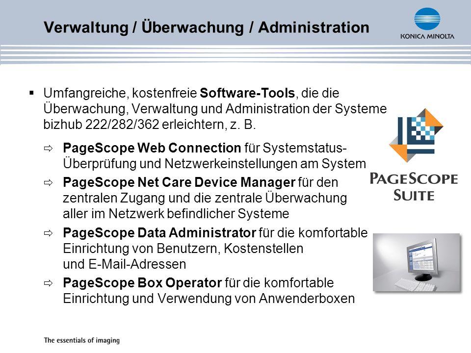 Verwaltung / Überwachung / Administration