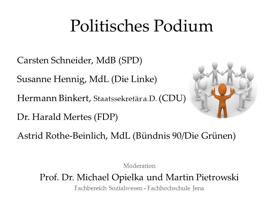 Politisches Podium Carsten Schneider, MdB (SPD)