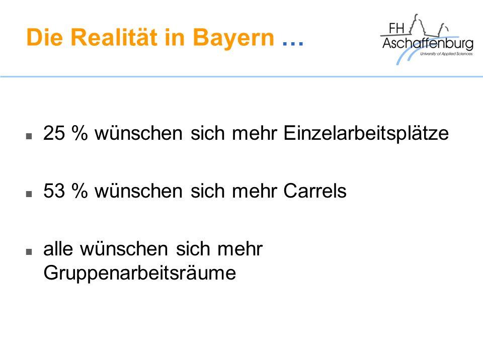 Die Realität in Bayern …