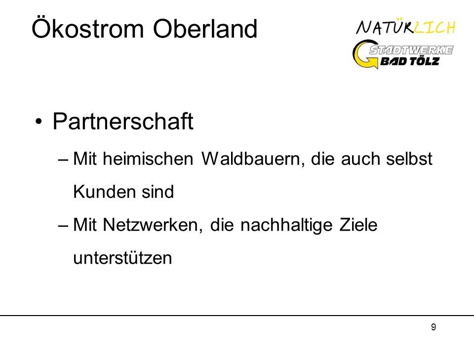 Ökostrom Oberland Partnerschaft