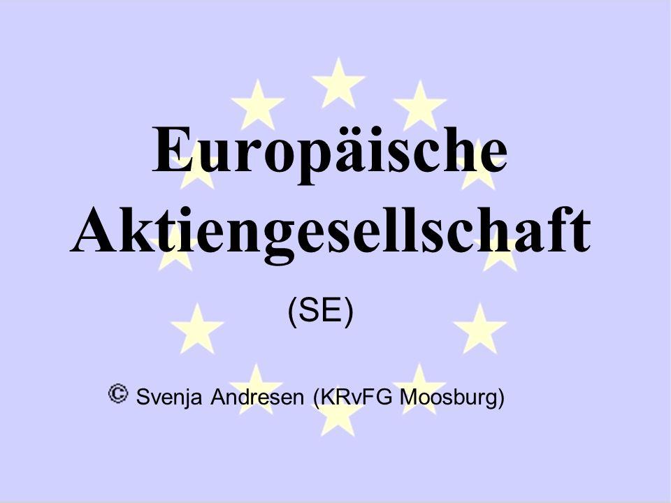 Europäische Aktiengesellschaft