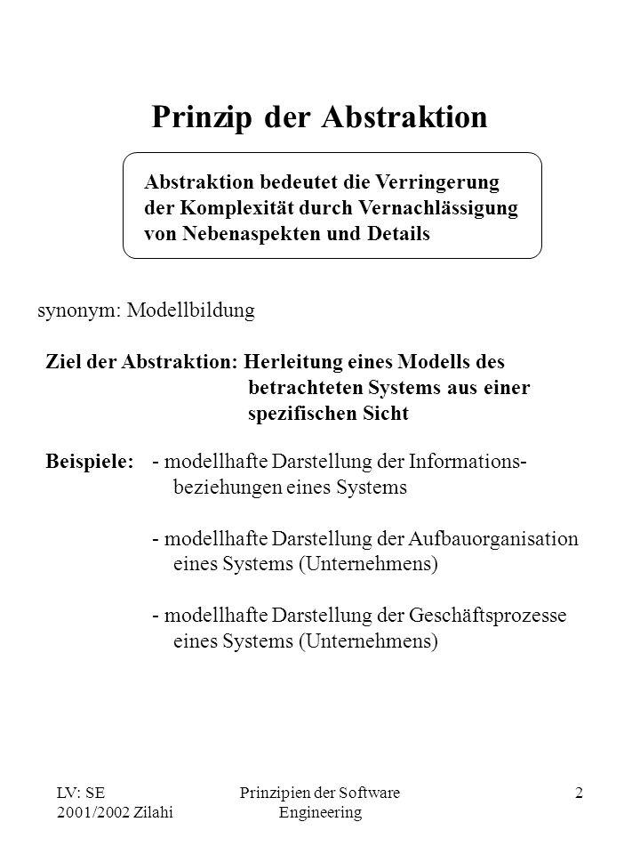 Prinzip der Abstraktion