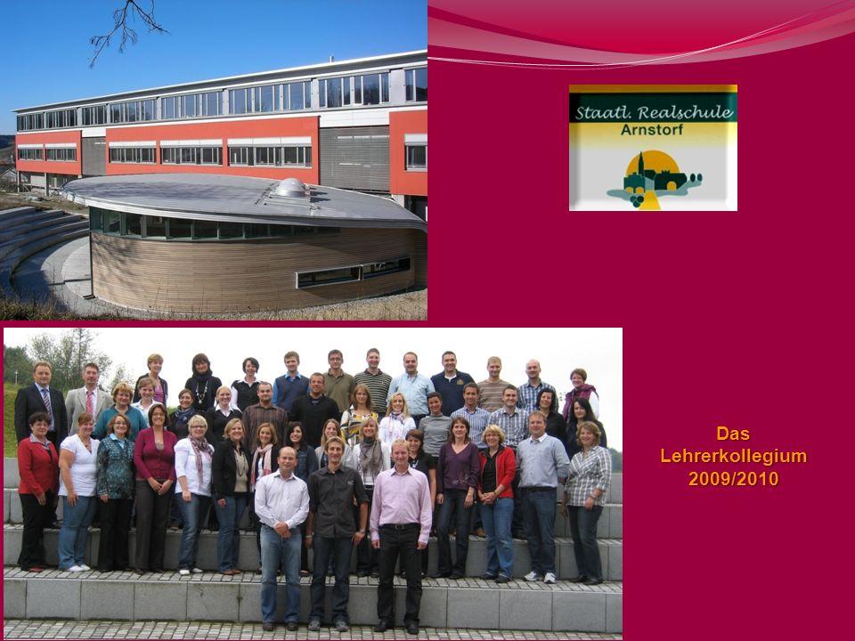 Das Lehrerkollegium 2009/2010 18 18