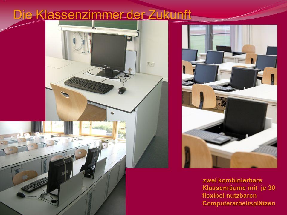 Die Klassenzimmer der Zukunft