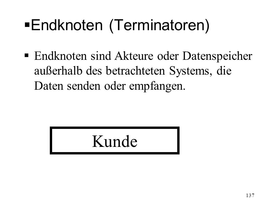 Endknoten (Terminatoren)