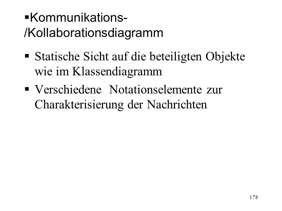Kommunikations-/Kollaborationsdiagramm