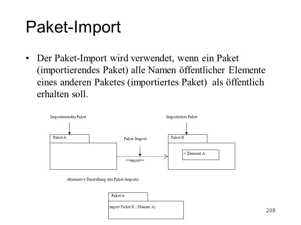 Paket-Import