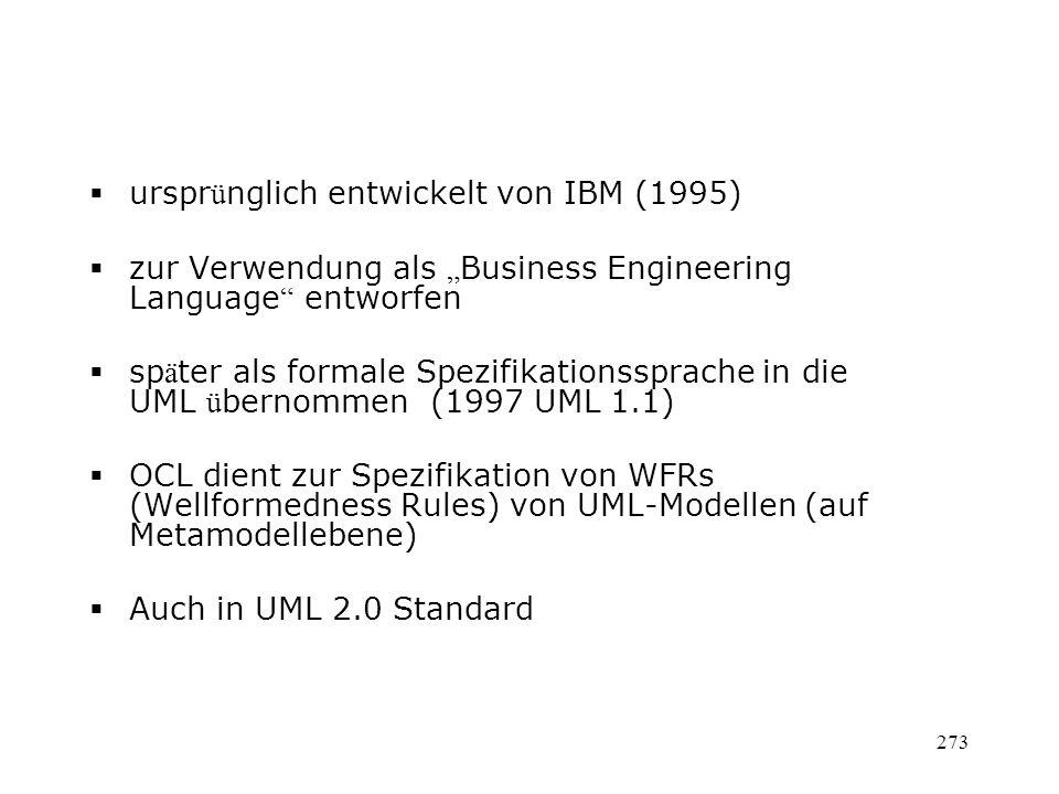 ursprünglich entwickelt von IBM (1995)
