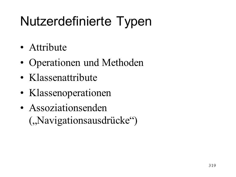 Nutzerdefinierte Typen