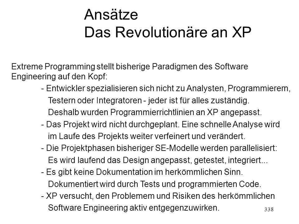 Das Revolutionäre an XP