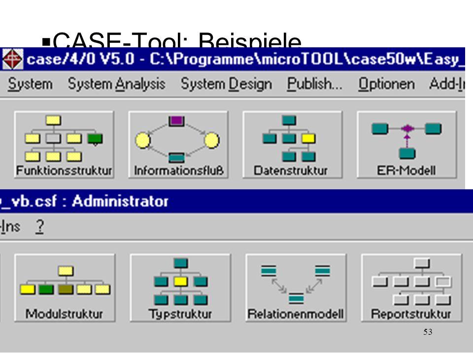 CASE-Tool: Beispiele