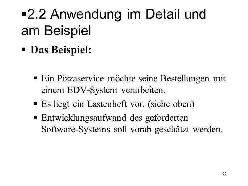 2.2 Anwendung im Detail und am Beispiel