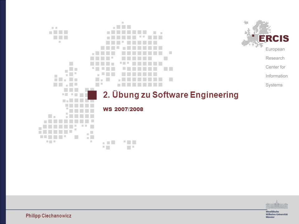 2. Übung zu Software Engineering