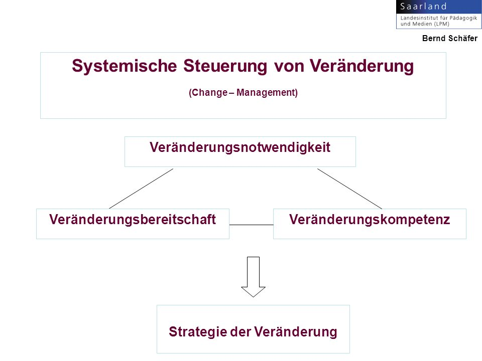 Systemische Steuerung von Veränderung