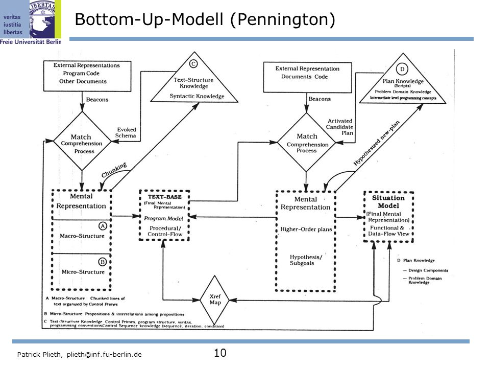 Bottom-Up-Modell (Pennington)