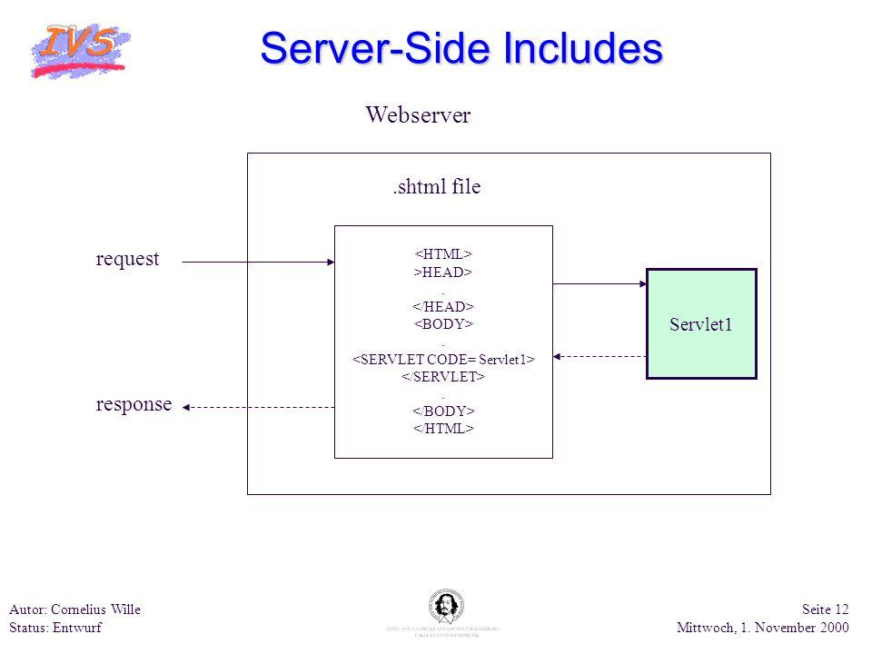 <SERVLET CODE= Servlet1>