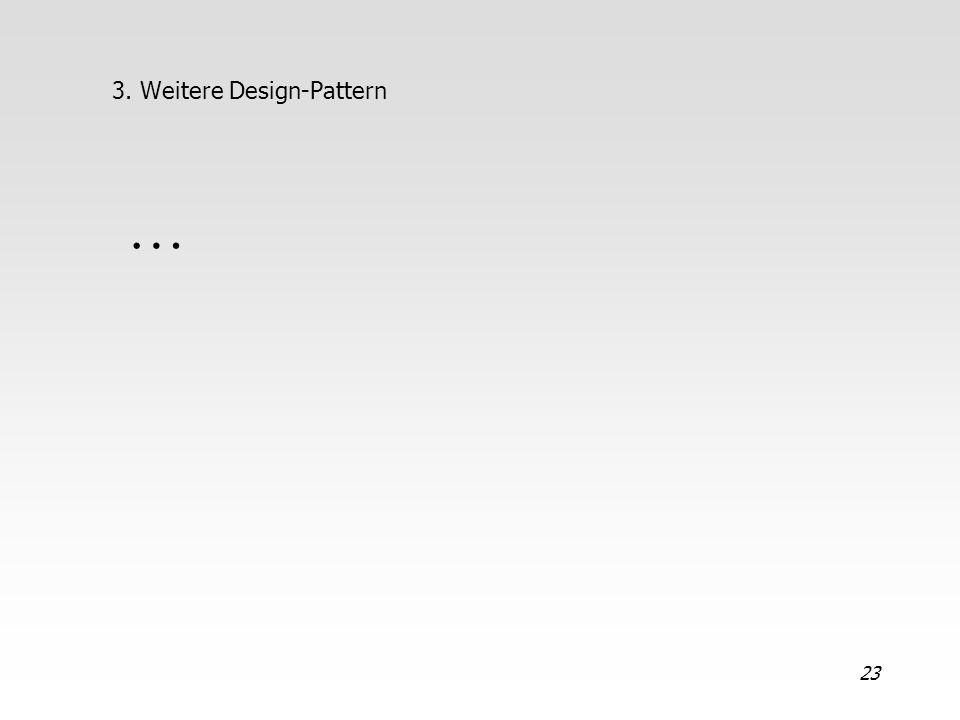 3. Weitere Design-Pattern
