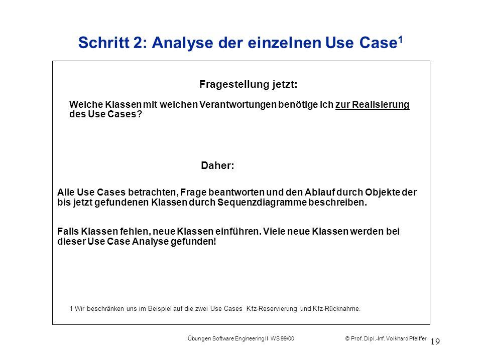 Schritt 2: Analyse der einzelnen Use Case1