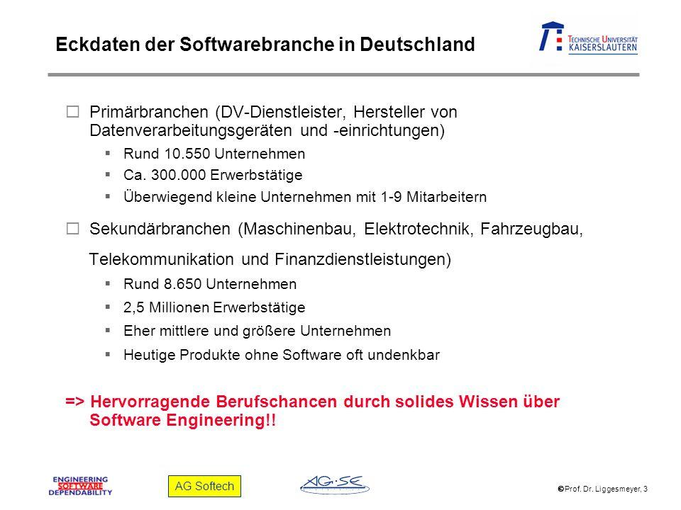 Eckdaten der Softwarebranche in Deutschland