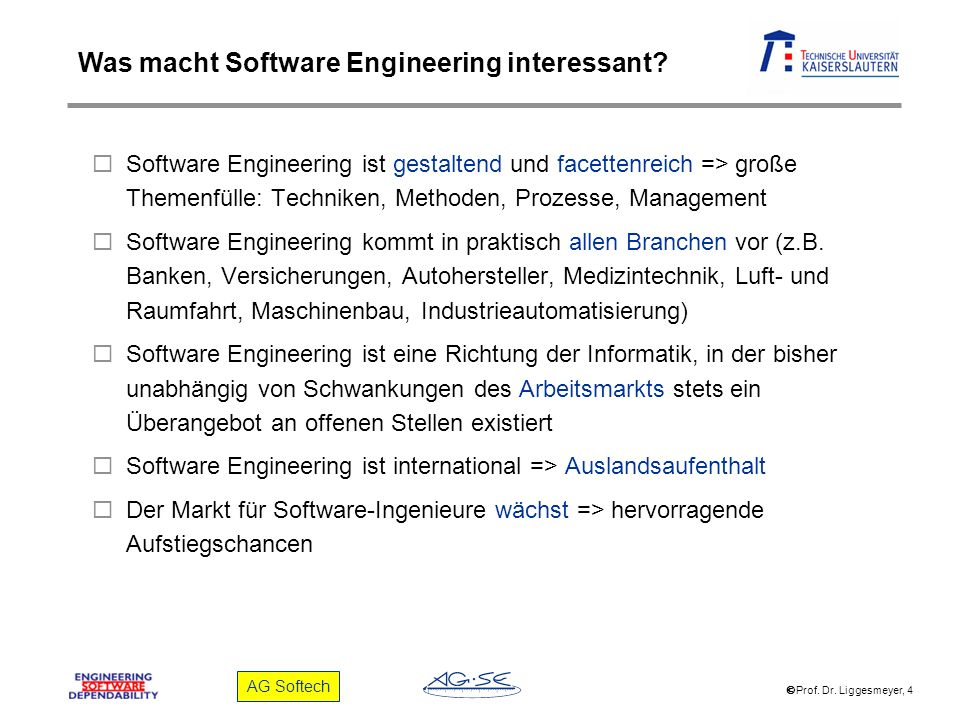 Was macht Software Engineering interessant