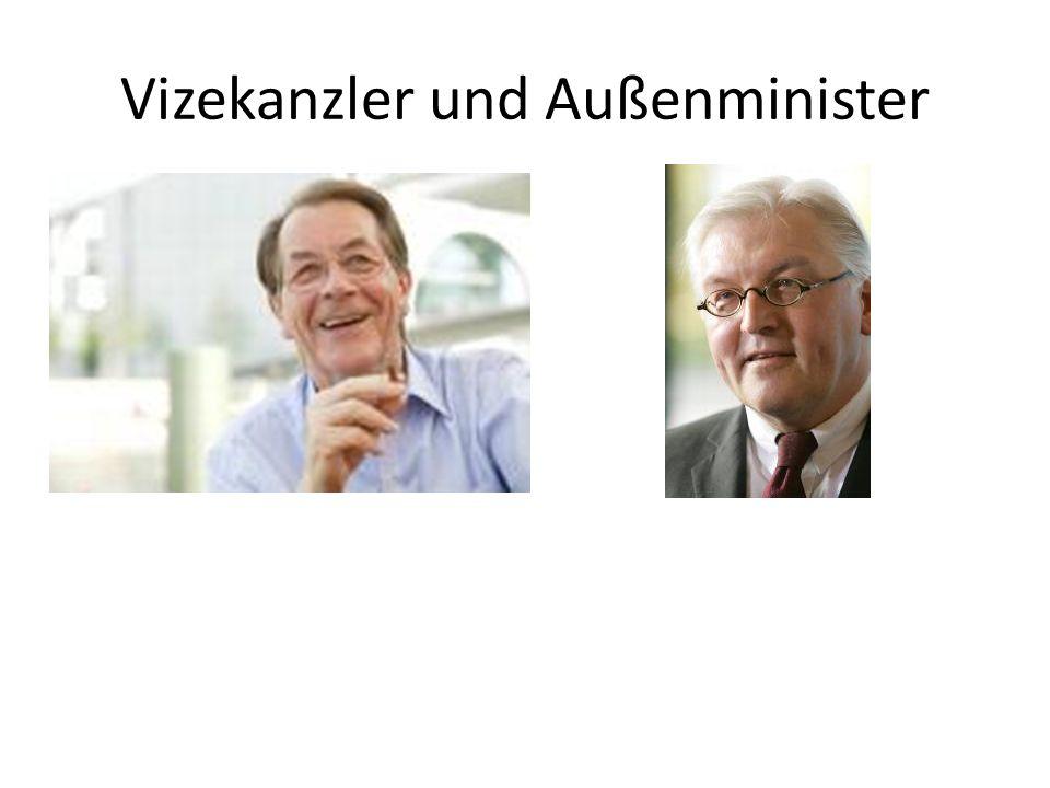 Vizekanzler und Außenminister