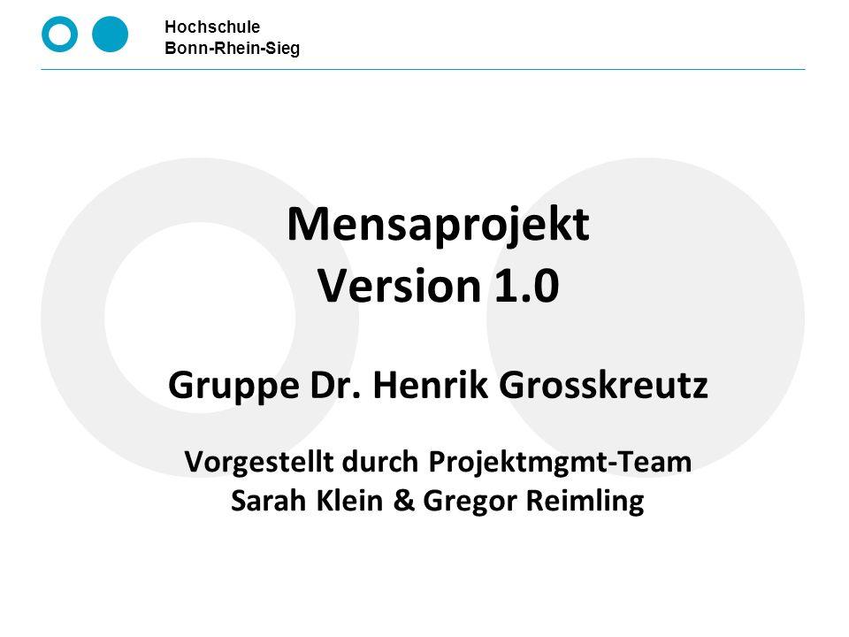 Gruppe Dr. Henrik Grosskreutz
