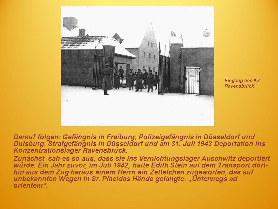 Eingang des KZ Ravensbrück