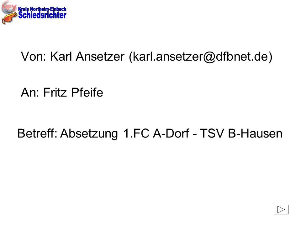 Von: Karl Ansetzer (karl.ansetzer@dfbnet.de)