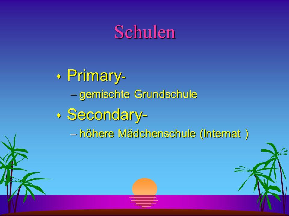 Schulen Primary- Secondary- gemischte Grundschule