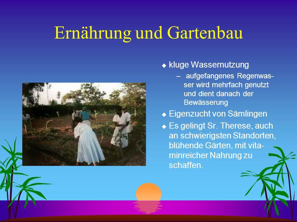 Ernährung und Gartenbau