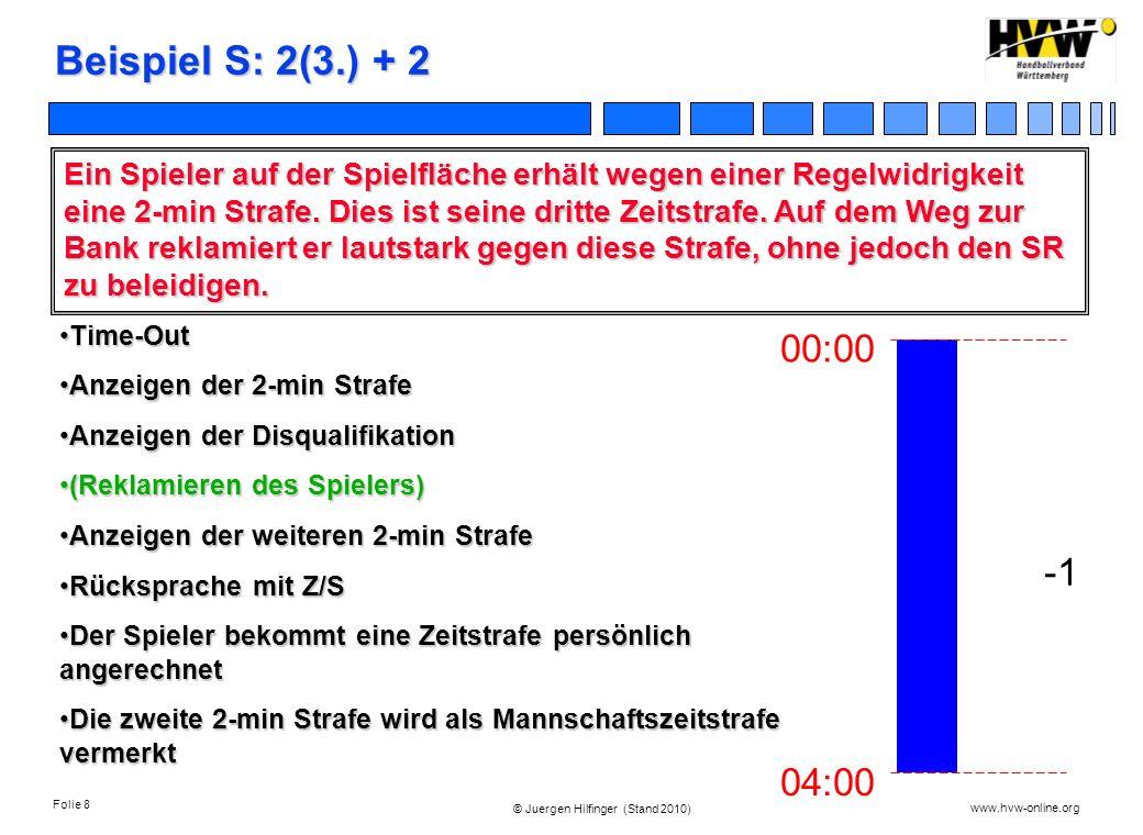Beispiel S: 2(3.) + 2