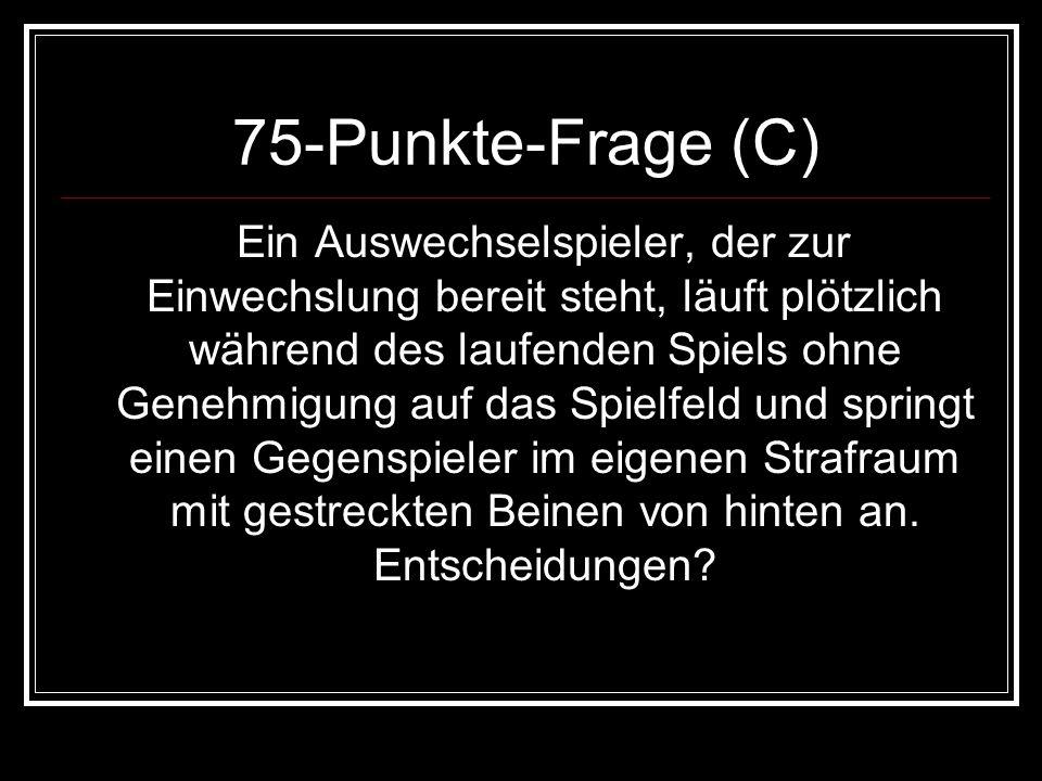 75-Punkte-Frage (C)